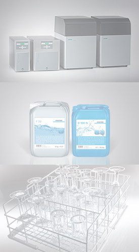 RoMatik Series - Detergent and rinse aid - Glass rack