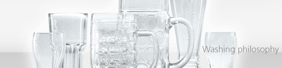 Washing philosophy - Not all glass is the same! Winterhalter has the perfect solution for all requirements